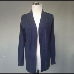 Sweaters - Navy Cardigan with Pockets